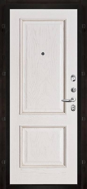 Внутренняя. Белая патина. Рисунок пвх шервуд m822