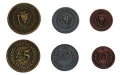 Набор металлических монет для Viticulture (Виноделие)