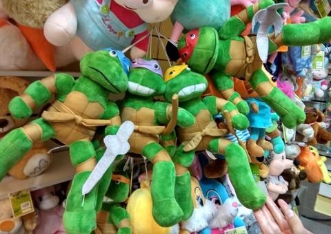 Набор мягких игрушек Черепашки Ниндзя