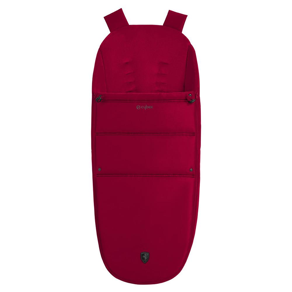 Scuderia Ferrari Теплый конверт в коляску Cybex Balios Footmuff Ferrari Racing Red footmoof-Cybex-Ferrari-racing-red-1.jpg