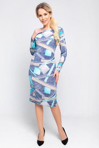 <p><span>Хотите быть в центре внимания? Тогда это платье самое то! Идеальное платье приталенного силуэта, рукав длинный.</span></p>