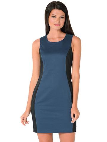 WD2416V-1 платье женское, синее