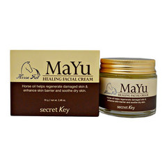 Secret Key Mayu Healing Facial Cream - Крем для лица с лошадиным жиром