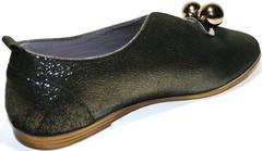 Туфли перчатки женские на низком ходу Ripka
