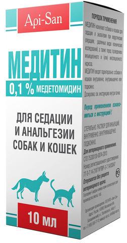 Апи-Сан Медитин 0,1% 10 мл