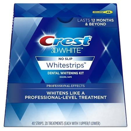Отбеливающие полоски Crest 3D White Whitestrips Dental Whitening Kit Professional Effects 40шт