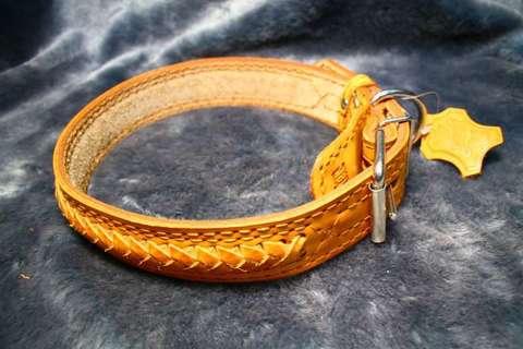 ZooMaster ошейник №30 кожа размер 55 см