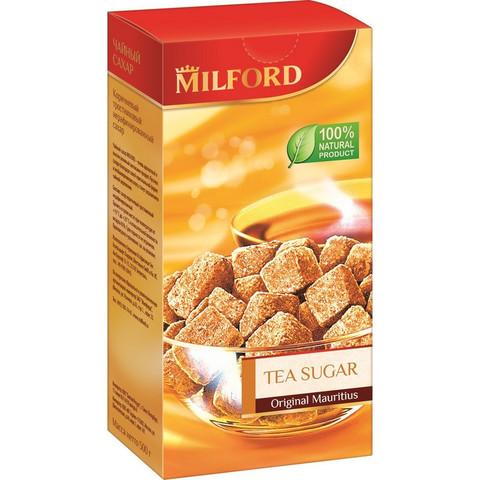 Сахар кусковой Milford Тростниковый чайный 500 г
