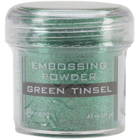Пудра для эмбоссинга Ranger Ink- GREEN TINSEL