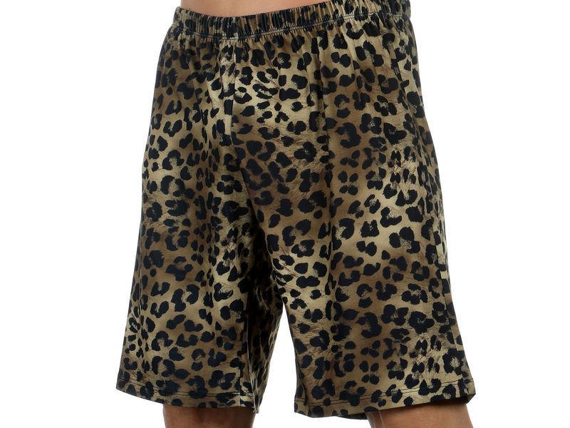 Мужские шорты удлиненные леопардовые Van Baam VB-39253