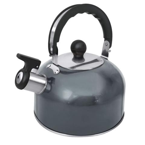 Чайник со свистком HOME ELEMENT HE-WK1602 серый агат