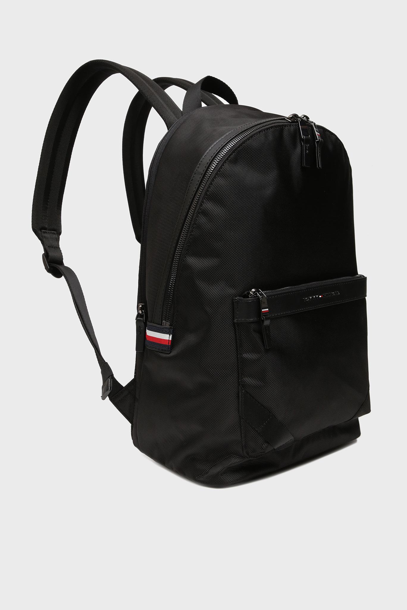 Мужской черный рюкзак ELEVATED NYLON Tommy Hilfiger