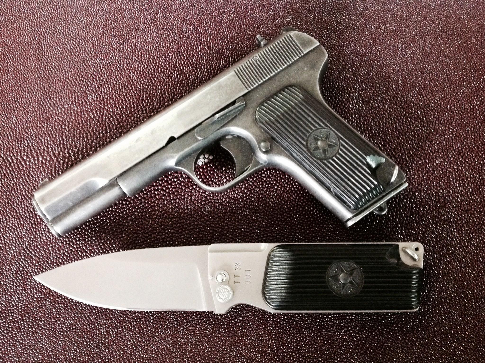 Нож Уракова А.И. Т-3 440С - фотография