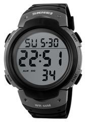 Часы SKMEI 1068 - Черный + Серый