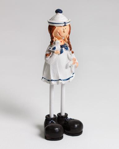 Декоративная фигурка. Девочка-морячка.