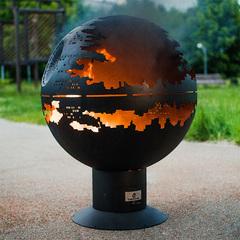 Чаша для костра Fire Cup Звезда Смерти