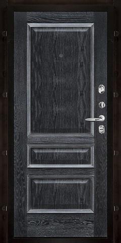 Внутренняя. Черная патина. Рисунок пвх черная патина m1059