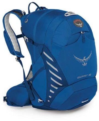 Картинка рюкзак велосипедный Osprey Escapist 32 Indigo Blue