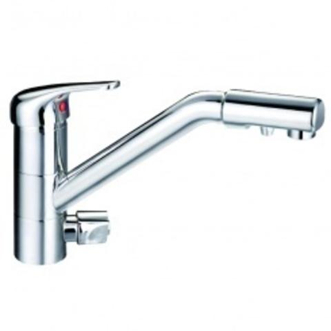 Кран DF-090  (смеситель для холодной/горячей воды совмещен с краном чистой воды), Райфил