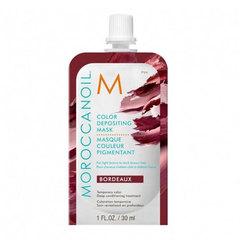 Moroccanoil Color Depositing Mask Bordeaux - Маска тонирующая для волос, бордо