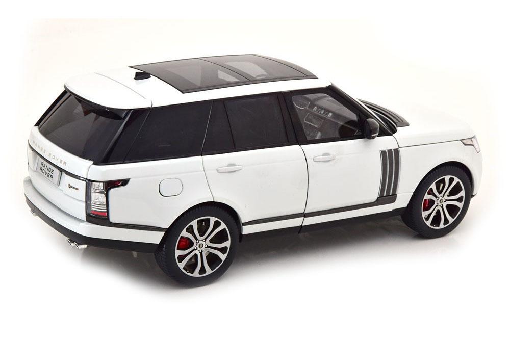 Коллекционная модель RANGE ROVER VOGUE SUPERCHARGE AUTOBIOGRAPHY 2020 WHITE