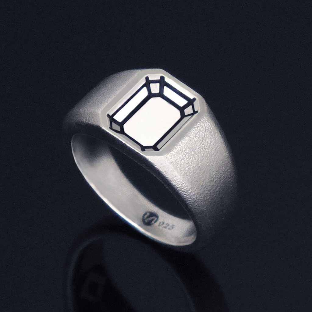 Кольцо EMERALD WHITE