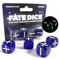 Fate System Fate Dice: Midnight Dice
