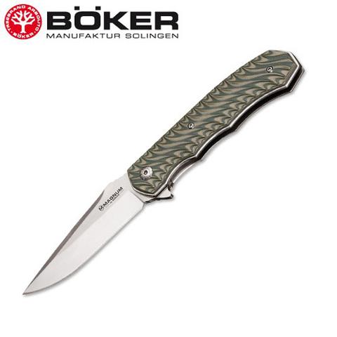 Нож Boker модель 01lg445 Magnum Satin Green