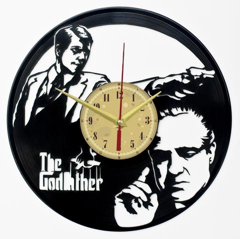 Крёстный отец Часы из Пластинки