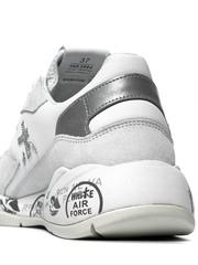 Комбинированные кроссовки Premiata Scarlett 3694 на шнуровке