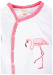 KotMarKot. Комбинезон для девочки Фламинго