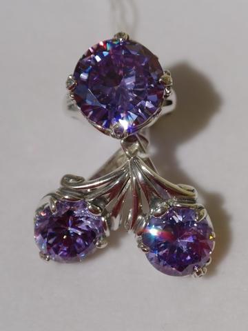 Дороти (кольцо + серьги из серебра)