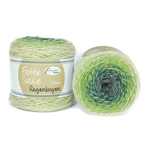 Flotte Socke Regenbogen 1390