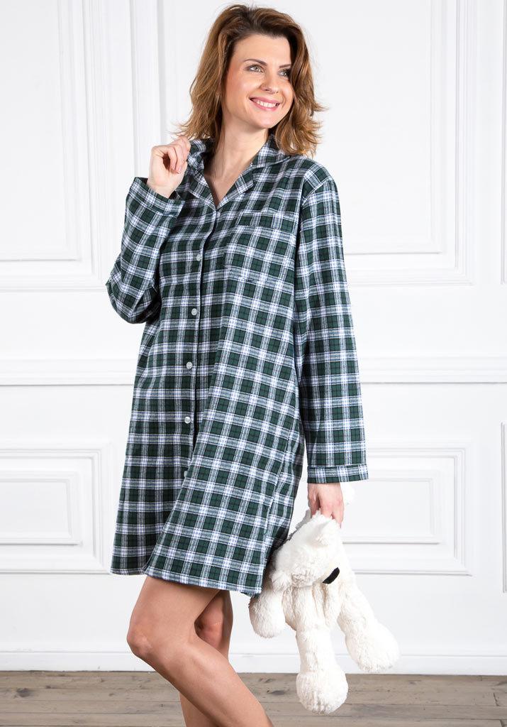 Фланелевая домашняя рубашка Pellegrini