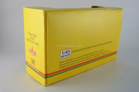 Box of MAZ Ansolda Modus-90 USSR 1:43