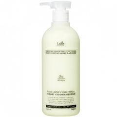 Кондиционер для сухих и поврежденных волос увлажняющий, бессиликоновый La'dor Moisture Balancing Conditioner, 530 мл