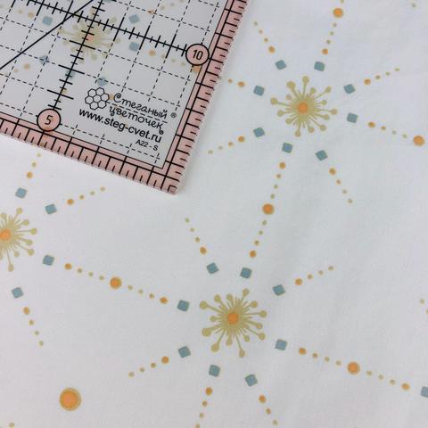 Ткань для пэчворка, хлопок 100% (арт. X0207)