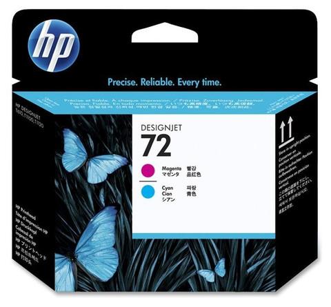 Печатающая головка HP C9383A (№72), пурпурная и голубая