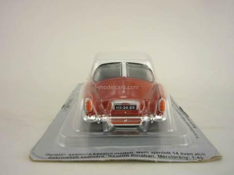 Tatra 603-1 red-white 1:43 DeAgostini Kultowe Auta PRL-u #53