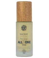 Питательный и восстанавливающий крем для лица для мужской кожи, Naobay