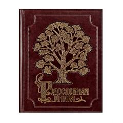 Родословная книга Изысканная (экокожа, золочение)
