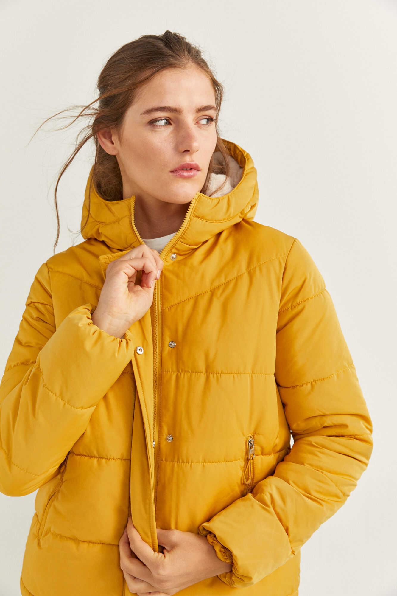 Коротка стьобана куртка