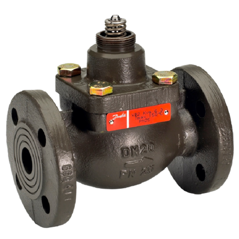 Клапан регулирующий чугун VFM2 Danfoss 065B3055 Ру25 Ду 15 Kvs=2,5 Tmax 150°С