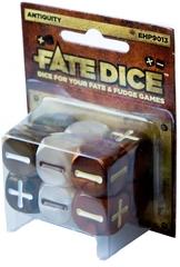 Набор кубиков для Fate System Fate Dice: Antiquity Dice