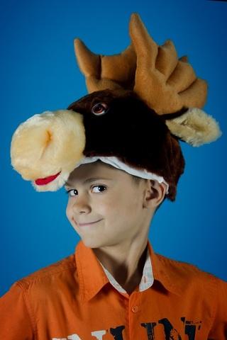 Карнавальная шапочка Лося