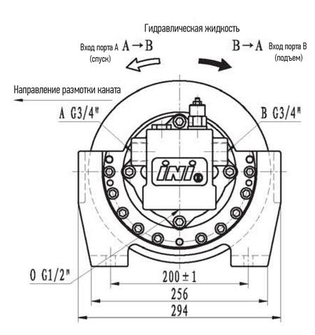 Эвакуационная лебедка IYJ2-20-48-10-ZPNА