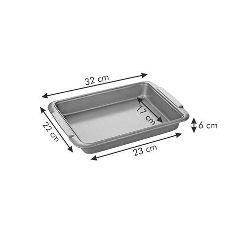 Прямоугольная форма для выпечки и запекания Tescoma, сталь с антипригарным покрытием, фото