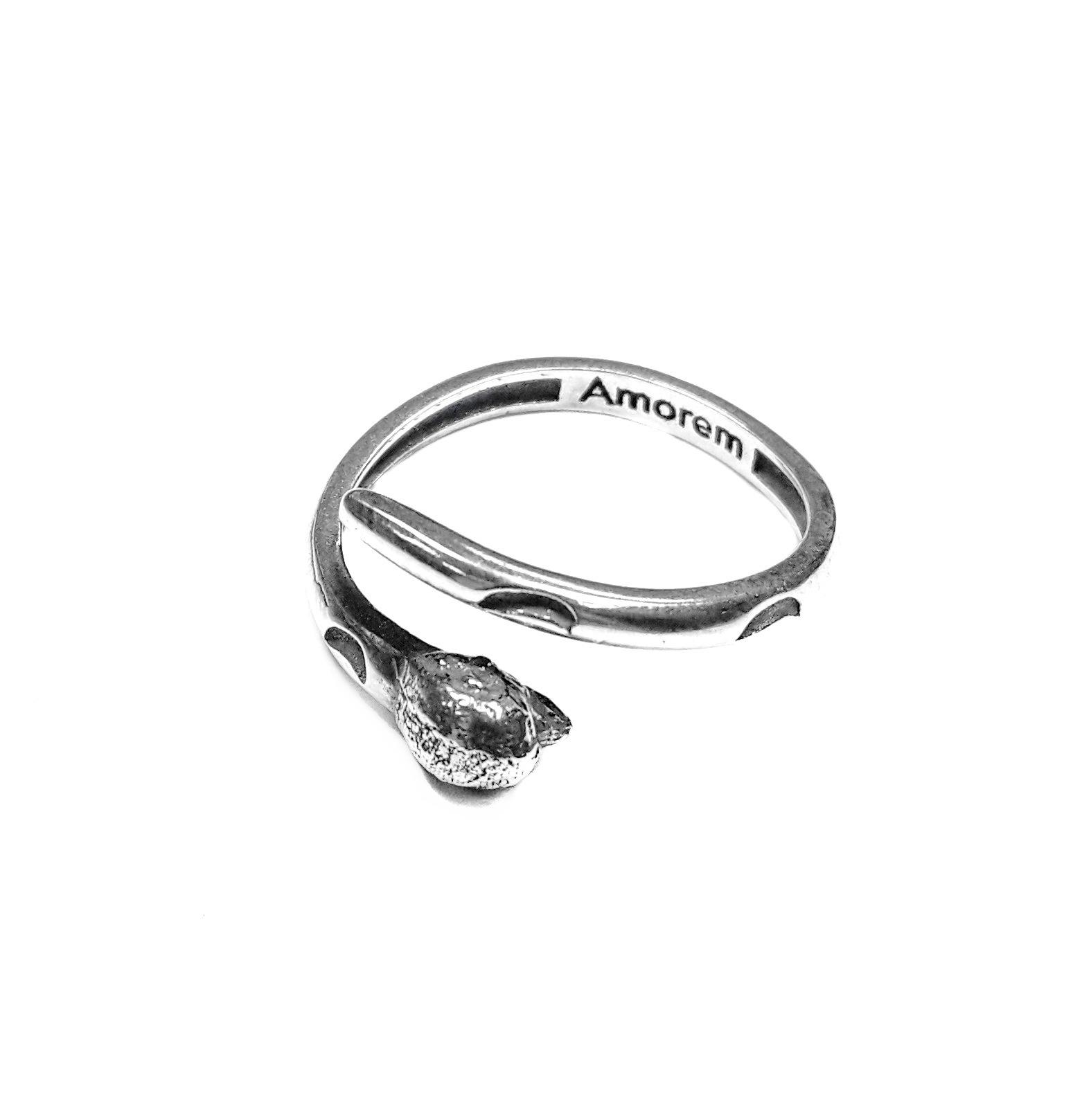 Monkey Totem Ring, Sterling Silver