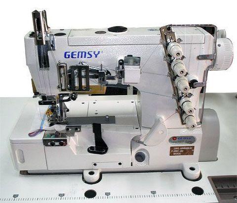 Плоскошовная швейная машина Gemsy GEM 1500 B-01 (5,6мм) | Soliy.com.ua