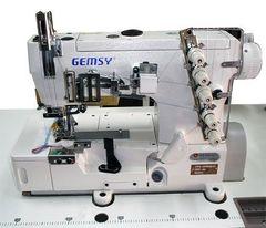 Фото: Плоскошовная швейная машина Gemsy GEM 1500 B-01 (5,6мм)